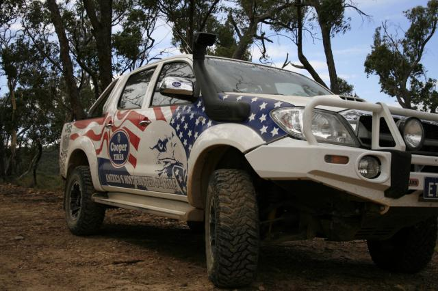 Action ute of the year Cooper hilux