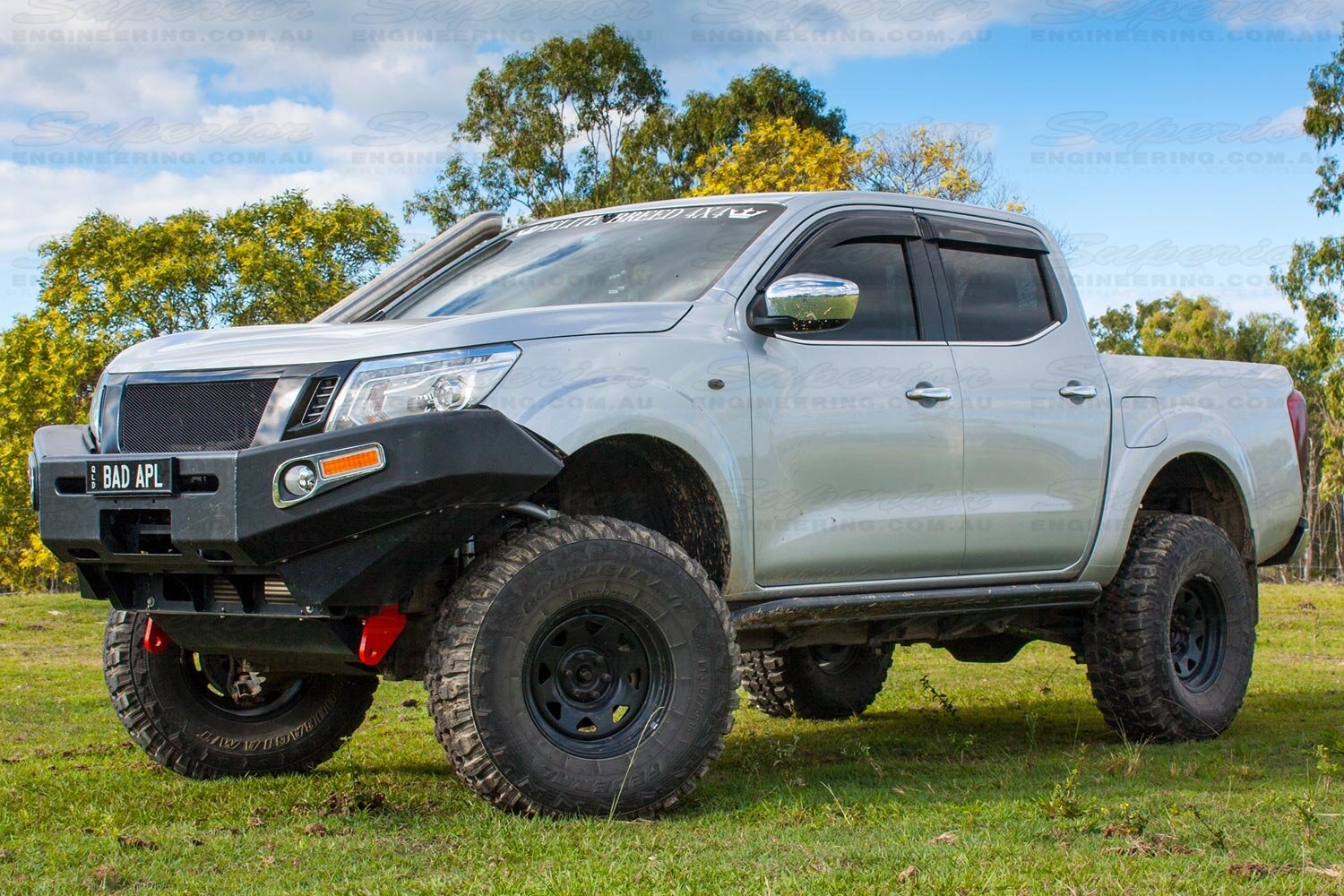 towing point nissan np