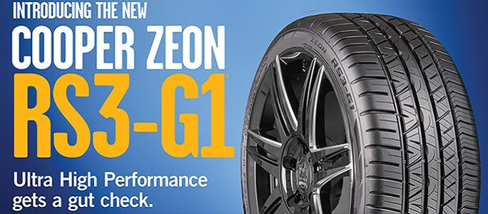 Professional tyres new cooper tires rsg
