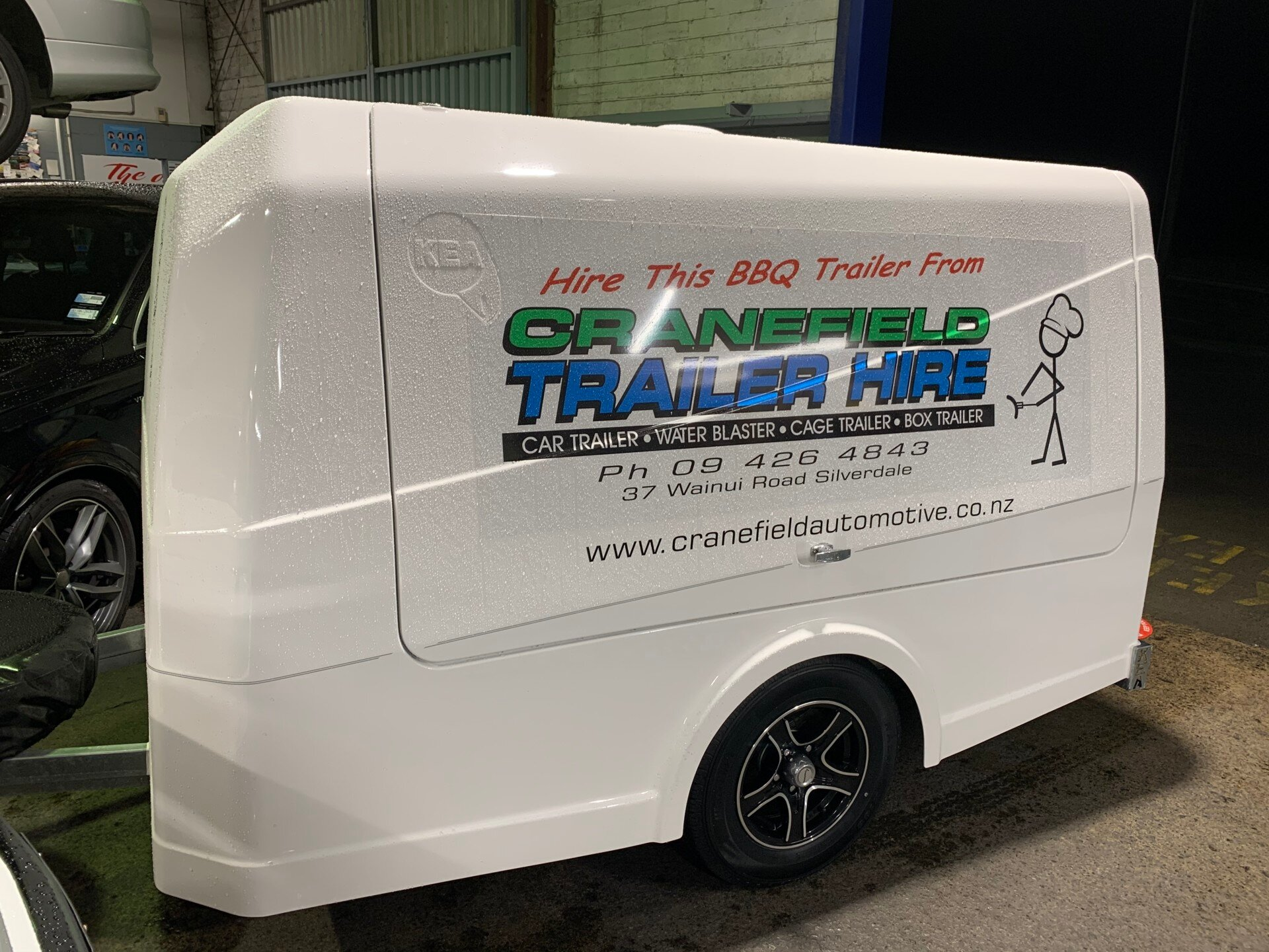 bbq trailer for hire