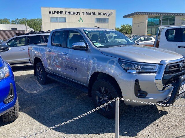 toyota hilux tyre south canterbury