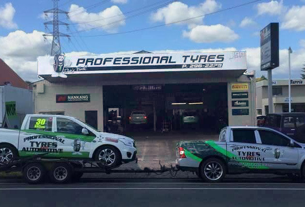 Professional tyres front